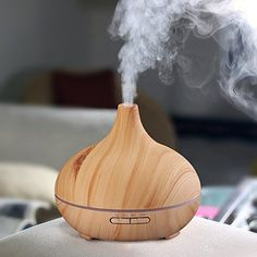 Amazon.com: iHomeSet Essential Oil Diffuser - Electric Aromatherapy Ultrasonic Cool Mist Air Humidifier: Health & Personal Care