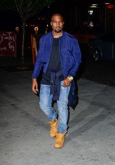 kanye west style   Looks de Kanye West : découvrez son C.V. fashion !
