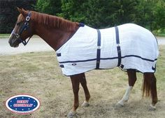 Irish Knit Anti Sweat Horse Sheet by Derby Originals. $32.95. Double front buckles. Double surcingles. 100% cotton. Breathable cotton fabric aids in cooling and fly protection.