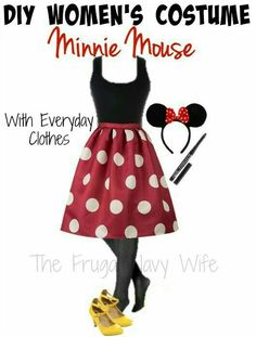 DIY Minnie Mouse Costume                                                                                                                                                                                 Mehr