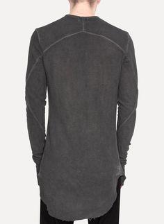 CRUVOIR - 16.294.106 Shoulderless Long Sleeve Top