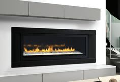 Linear Gas Fireplace | Napoleon Direct Vent LHD50 Linear Gas Fireplace - CJs Hearth and Home