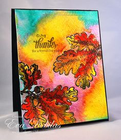 For the love of life: JustRite Papercrafts: Oak Leaves