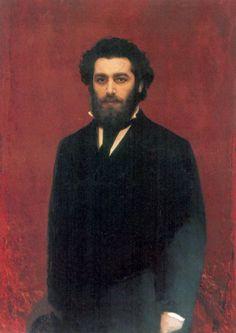 Иван Николаевич Крамской. Портрет художника Архипа Ивановича Куинджи