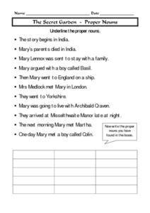English teaching worksheets: The Secret Garden | RESPONDING TO ...