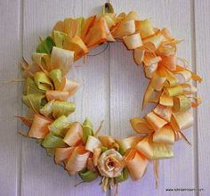 WREATH OF CORN LEAVES