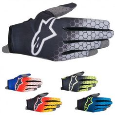 Alpinestars Gloves Radar Schwarz//mid Grey