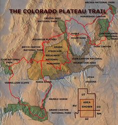 The Colorado Plateau Trail