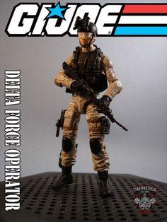 Delta Force Operative (G.I. Joe 30th Anniversary) Custom Action Figure