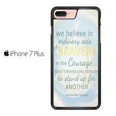 Divergent Dauntless The Brave Quotes Iphone 7 Plus Case