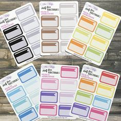 Half Box functional planner stickers, functional stickers  use ROXYSENTME for 20% off and a freebie