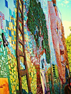 Metaphorest by Tracy Van Duinen – Todd Osborne – Phil Schuster – Andy Bellomo - Fabulous textured mosaic