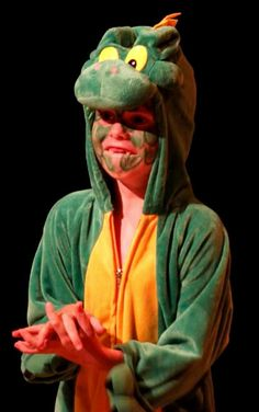 Tick-tock-tick-tock!  Beware the scary crocodile steals the show in ArtReach's PETER PAN!