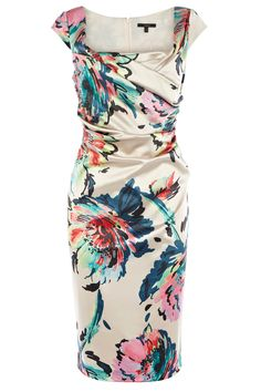 Wedding Guest | Multi HAYWORTH DUCHESS SATIN DRESS | Coast Stores Limited