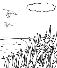 Top 10 Free Printable Wildlife Hunting Coloring Pages Online ...