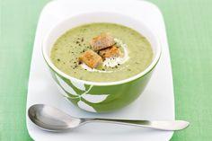 Broccoli and leek soup main image