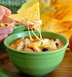 Crock-pot Chicken Tortilla Soup - My Honeys Place