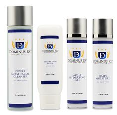 Dominus Rx Skin Care for Men Basic Kit 3 is the perfect gift for dad. The perfect start if you are new to skin care. #dad #mens #skin #care #for  #skincare #Dominus #rx #men #male #moisturizer