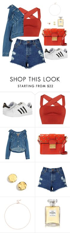 """Untitled #562"" by hayleyl22 ❤ liked on Polyvore featuring adidas, Khaite, Balenciaga, RED Valentino, Kenneth Cole, Miss Selfridge, Sole Society and Chanel"