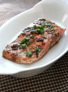 ... - fish on Pinterest | Grilled Salmon, Firecracker and Dill Salmon