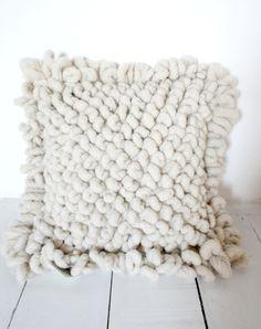 mexchic wool x-grande floor pillow.