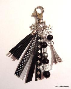 Diy Jewellery Chain, Beaded Jewelry, Handmade Jewelry, Jewelry Making, Diy Accessoires, Diy Keychain, Bijoux Diy, Key Rings, Jewelry Crafts