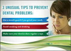 3 unusual tips to prevent dental problems #DentistSunbury #DentalMooneePonds