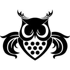 Silhouette Design Store - View Design #32923: fierce owl
