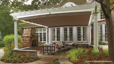 ShadeFX Retractable Canopies for your home...love this...