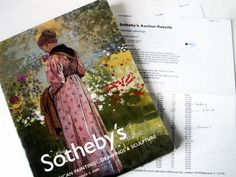 Sotheby's NY Auction Catalog 2003 —American paintings, Drawings, &Sculpture- List of  Selling Prices- Dozens of Quality Color Plates by LaTrouvaille on Etsy