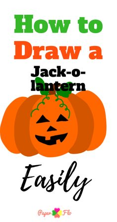 Watch this video tutorial of how to draw a jack-o-lantern easily Easy Pumpkin Carving, Pumpkin Carving Patterns, Pumpkin Jack, Cute Pumpkin, Pumpkin Drawing, Pumpkin Template, Jack O Lantern Faces, Coloring Sheets For Kids, Kids Patterns