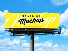 Free Outdoor Advertising Billboard Mockup PSD by Zee Que Bilboard Design, Graphic Design, Street Banners, Billboard Mockup, Billboard Signs, What Is Fashion Designing, Outdoor Buildings, Create Awareness, Photography Projects