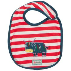Reversible Bib - Highland Cow - available in one size - RRP £7.50