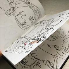 New sketchbook! @projectch #sketch #sketchbook #illustration #draw #drawing #dessin #croquis #carnetdecroquis #pen #ink #doodle