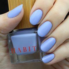 Hannah of HannahRoxIt in Habit Cosmetics Nail Polish 18 Soft Focus