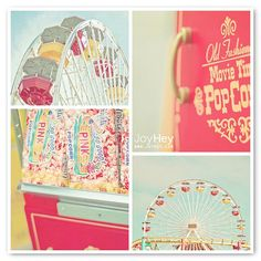 Life is a beautiful carnival Carnival Photography, Vintage Photography, Love Photo Collage, Photo Collages, Pink Popcorn, Pastel Party, Beautiful Color Combinations, Color Combos, Country Fair