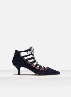 Zapato tacón medio tiras - Ver todos - CALZADO - Uterqüe España. 99