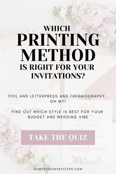 What's your wedding invitation style? This quiz will help you find the perfect invitations for your budget and vibe!