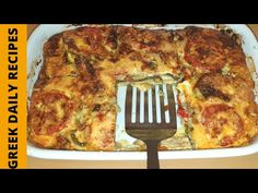 Τέλειο σουφλέ λαχανικών!! | Greek daily recipes - YouTube M&m Recipe, Deep Dish, Daily Meals, Greek Recipes, Casserole Dishes, Side Dishes, Food And Drink, Vegetarian, Make It Yourself