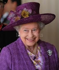 The Queen - lovely purple...royal color and truly fit for a queen