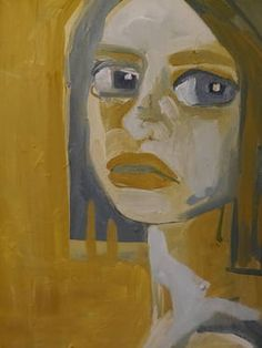 "Saatchi Art Artist Laurel Gallagher; Painting, ""Lost Girl"" #art"