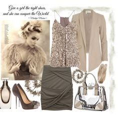 Give a girl the right shoes...., created by salza.polyvore.com