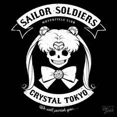 Moon's Angels Sailor Moon t-shirt preview