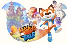Super Lucky's Tale on Behance