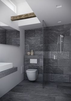 Luxury Bathroom Master Baths Rustic is enormously important for your home. Whether you pick the Luxury Bathroom Master Baths Dark Wood or Dream Master Bathroom Luxury, you will create the best Bathroom Ideas Master Home Decor for your own life. Luxury Master Bathrooms, Bathroom Design Luxury, Modern Bathroom Design, Master Baths, Minimal Bathroom, Bathroom Designs, Small Grey Bathrooms, Master Master, Dream Bathrooms