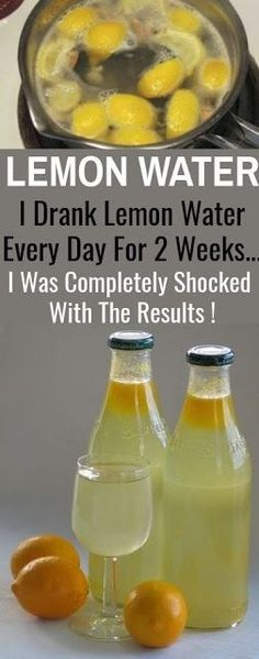 LEMON WATER: I Drank Lemon Water Every Day For 2 Weeks…I Was Completely Shocked With The Results !