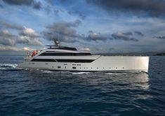 Luca Vallebona unveils a Spectacular 62m Yacht Concept called GRAVITY The Wheelhouse, Guest Cabin, Lower Deck, Yacht Interior, User Experience Design, Asymmetrical Design, Yacht Design, Motor Yacht, Latest Cars
