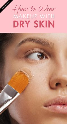 Trying to apply makeup to your dry skin is NO simple task! And once you think you've got a smooth application going, you catch a glimpse of yourself in the mirror on the way out and realize that's not the case.