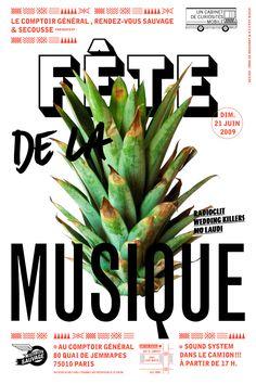 côme de bouchony - typo/graphic posters