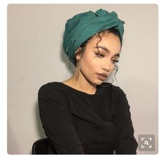 Suzi Lipstick Turban hijab was so much more easier to do with this scarf using and ., Turban hijab was so much more easier to do with this scarf using and . Turban hijab was so much more easier to do with this scarf using Mode Turban, Turban Hijab, Turban Outfit, Hijab Wear, Hair Turban, Headband Hair, Headbands, Curly Hair Styles, Natural Hair Styles